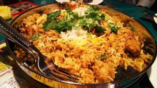 チキンのビリヤニ|ガラムマサラ
