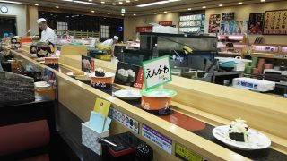 回転レーン|ジャンボおしどり寿司 川崎宮前店