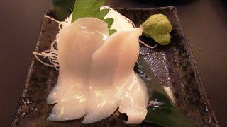 新鮮イカ刺し|川崎酒場(川崎モアーズ)