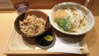 とり五目セット|ふたば製麺(JR川崎駅)