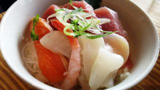海鮮丼アップ|うどん×ちょい呑み 川崎うどん