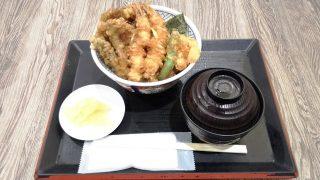 天丼+味噌椀セット|金子半之助 ラゾーナ川崎店