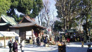 熊野神社の境内|川崎市幸区