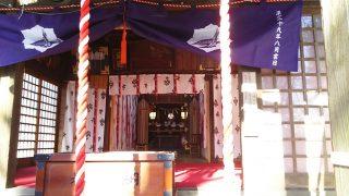 熊野神社のお社|川崎市幸区