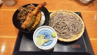 天丼とごまそばのセット|北前そば高田屋 川崎駅前店