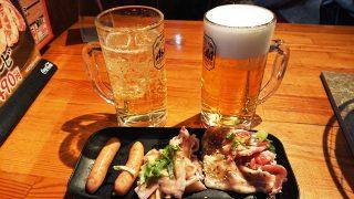 ドリンクとコース料理のお肉三種|七輪焼肉 安安 鹿島田店