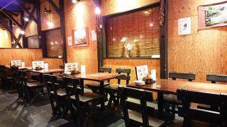 店舗内観(テーブル席)|志楽亭