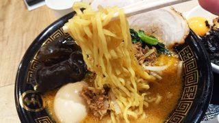 麺リフトアップ|濃厚味噌らーめん 玉 川崎ルフロン店