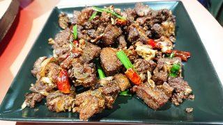 ダック肉の炒め|四川食府