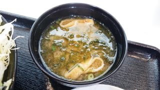 味噌汁|とんかつ まい泉 ラゾーナ川崎プラザ店