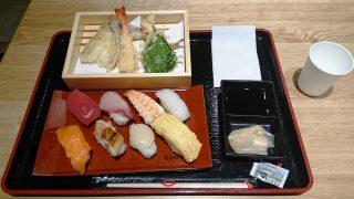 天ぷらセット|スシローコノミ(FOOD VILLAGE)|川崎ルフロン