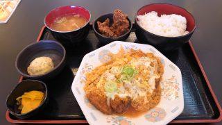 蕎麦屋のかつ煮定食 川崎酒場(川崎モアーズ)