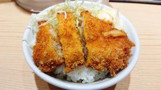 ミニチャーカツ丼|つけ麺 玉 赤備え