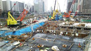 ホテルメトロポリタン川崎 工事進捗状況(2018年12月5日)