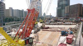 ホテルメトロポリタン川崎 工事進捗状況(2019年3月22日)