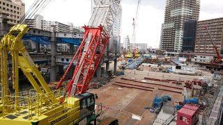 ホテルメトロポリタン川崎 工事進捗状況(2019年4月2日)
