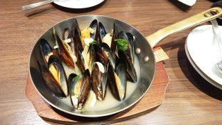 ムール貝のワイン蒸し|ビヤレストラン銀座ライオン 川崎駅前店