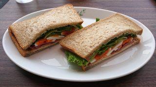 ベーコンチーズと彩り野菜のサンドイッチ ドトール珈琲店 川崎ゼロゲート店