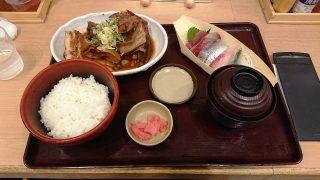 あら煮とお刺身定食|築地食堂 源ちゃん 川崎アゼリア店