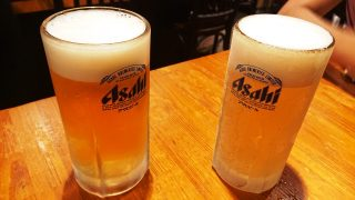 生ビールとエクストラコールド|THE やきとり 喜作