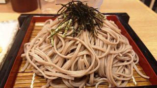 天ぷらそば(冷)の蕎麦|そばえもん 川崎アゼリア店