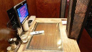 半個室テーブル|中華酒家飯店 角鹿(鹿島田)