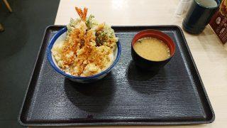 蟹と帆立の天丼|天丼てんや 川崎アゼリア店