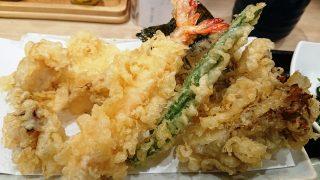 これぞ!オールスターの天ぷら|天丼てんや 川崎アゼリア店