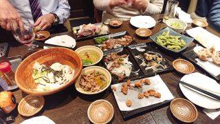 テーブルの様子|個室居酒屋 AJITO 川崎仲見世店