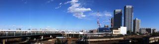 20150214新川崎駅付近