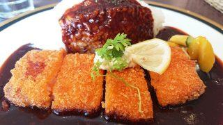 海老カツ早矢仕ライス(アップ)|M&C-cafe@ラゾーナ川崎