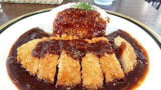 ロース豚カツ早矢仕ライス(アップ)|M&C-cafe@ラゾーナ川崎