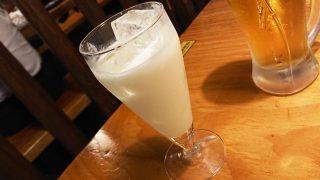 ジャージー乳ヨーグルトのお酒(ミルク割り)|鳥貴族 鹿島田駅
