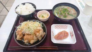 唐揚げ明太ソース定食|やまや食堂 ラゾーナ川崎プラザ店