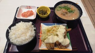 たっぷりタルタルのチキン南蛮(辛子高菜付き)|やまや食堂 ラゾーナ川崎プラザ店