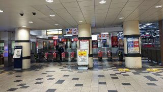 京急川崎駅|令和2年(2020年)4月18日(土)