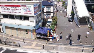 鹿島田駅前のフードコート♪|ペロリ鹿島田(上から)