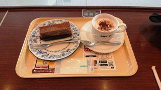 ショコラムースとカプチーノ|ドトールコーヒー 鹿島田サウザンドモール店