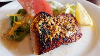 魚のオリーブオイルソテー(アップ)|ミック(鹿島田・古市場)