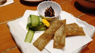 蕎麦味噌と揚げ板蕎麦|北前そば高田屋 川崎駅前店