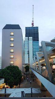 川崎駅西口|ホテルメッツ(手前)とホテルメトロポリタン(奥)