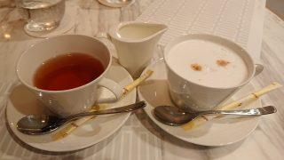 紅茶とカプチーノ|TERRACE and TABLE(ホテルメトロポリタン川崎)