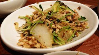 豚肉と玉ねぎの芽炒め|WANG'S GARDEN 武蔵小杉店(ワンズガーデン)
