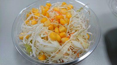 生野菜サラダ|吉野家