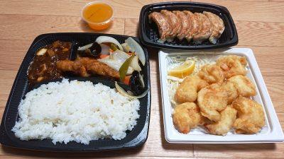 デリバリー(蓋を開けてみた)|大阪王将 川崎駅東口店