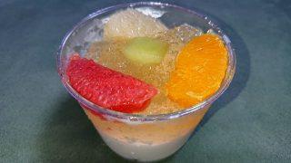 フレッシュ柑橘とメロンの杏仁豆腐|成城石井