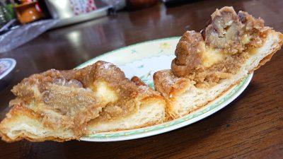 イタリア栗のモンブラン(断面) 神戸屋キッチン エクスプレス アトレ川崎店