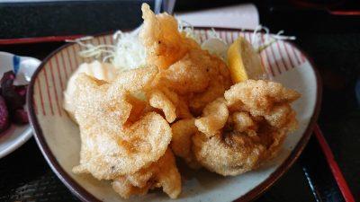 鶏の唐揚げ|まぐろ料理 まんや(新川崎・鹿島田)