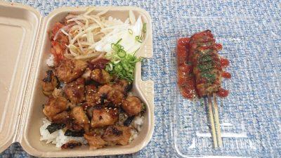 焼き鳥弁当&肉巻き|キタノイチバ 鹿島田駅前店
