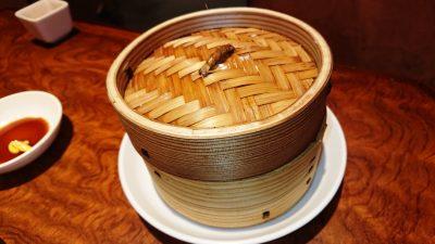 焼売の蒸籠|中華酒家飯店 角鹿(鹿島田)